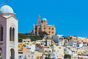 Ermoupolis at Syros Island greece_139582895