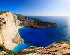 naviagio beach zakynthos island greece_142040731