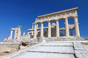 temple aphaea aegina island greece_112879180